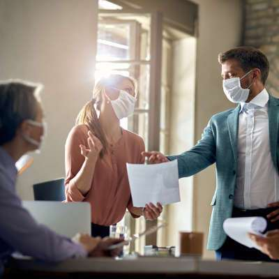 Some Factors Concerning Returning to the Office During the Pandemic