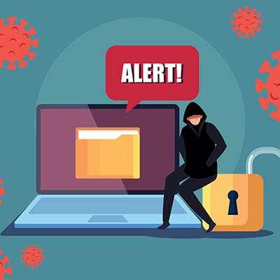 COVID-19 Pandemic Amplifying Cyberthreats