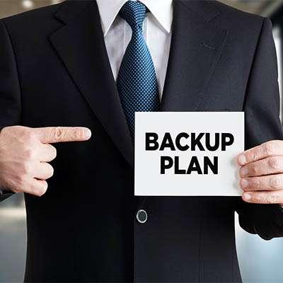 Having a Thorough Backup Plan is Critical