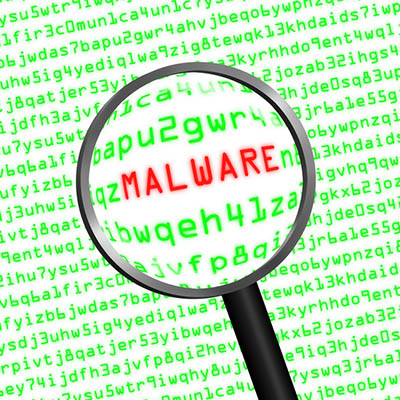 malware sign to warn against facebook sweepstakes scam